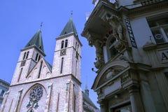 Собор в Сараеве Стоковая Фотография RF