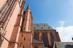 Собор в Франкфурте, Германии Стоковое фото RF