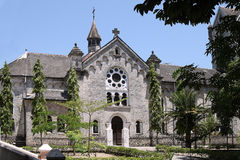 Собор в Bagamoyo стоковое изображение