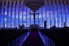 Собор в Brasilia Стоковые Изображения
