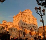 Собор в Monako Стоковая Фотография