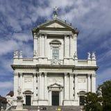 Собор в Solothurn, Швейцарии Стоковое Изображение RF