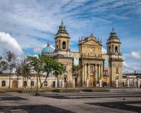Собор Гватемали - Гватемала, Гватемала Стоковая Фотография