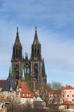 собор Германия meissen Стоковое Изображение