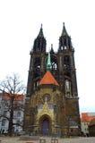 Собор Германия Meissen Стоковая Фотография RF