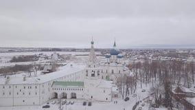 Собор Девственниц-рождества kremlin видеоматериал