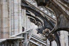 собор детализирует милан Италии купола Стоковые Изображения RF