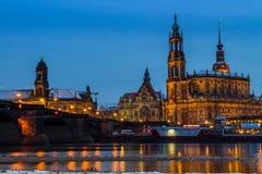 Собор Дрездена/католическая часовня суда Стоковое фото RF