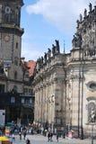 Собор Дрездена стоковая фотография rf