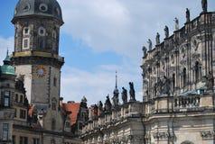 Собор Дрездена стоковое фото