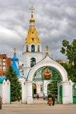 Собор заступничества в самаре, России стоковые фото