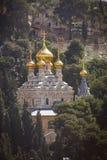 Собор Иерусалим Mary Magdalene s, Израиль Стоковое Изображение