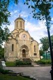 Собор изображения Vernicle спасителя в монастыре Andronikov, Москва Spassky Стоковая Фотография