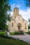 Собор изображения Vernicle спасителя в монастыре Andronikov, Москва Spassky Стоковые Фото