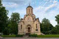 Собор изображения Vernicle спасителя в монастыре Andronikov, Москва Spassky Стоковые Изображения RF