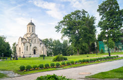 Собор изображения Vernicle спасителя в монастыре Andronikov, Москва Spassky Стоковые Фотографии RF