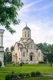 Собор изображения Vernicle спасителя в монастыре Andronikov, Москва Spassky Стоковое фото RF