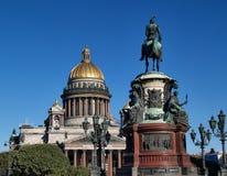 Собор Исаак Святого в Санкт-Петербурге Стоковые Изображения