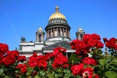 Собор Исаак Святого, Петербург Стоковое Изображение RF