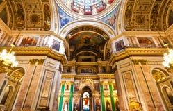 Собор Исаак Святого, Санкт-Петербург, Россия Стоковые Фотографии RF
