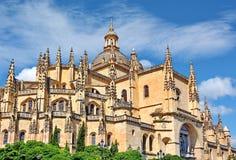 Собор Испания Сеговии Стоковые Фотографии RF