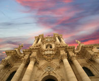 собор Италия Сицилия syracuse стоковое фото