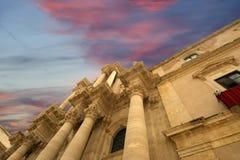 собор Италия Сицилия syracuse стоковая фотография rf
