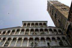 собор Италия lucca michele san Стоковые Фото