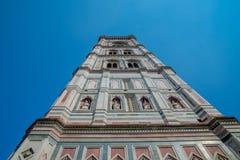 Собор Италии Флоренса на заднем плане голубого неба Стоковое Изображение