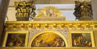 Собор Казани в peterburg st стоковые изображения rf