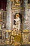 Собор Казани в peterburg st стоковое фото rf