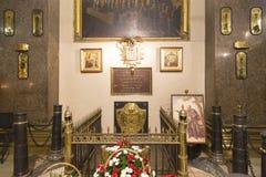 Собор Казани в peterburg st стоковое изображение