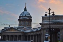 Собор Казани, квадрат Казани стоковые изображения rf