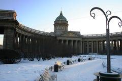 Собор Казани, Санкт-Петербург, Россия стоковое фото rf