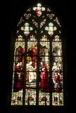 Собор Кентукки, витраж Стоковые Фотографии RF