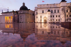 Собор, колокольня и дворец великих князей Стоковая Фотография RF