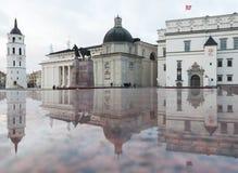 Собор, колокольня и дворец великих князей Стоковые Фотографии RF