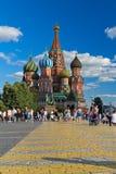 Собор красной площади Стоковые Изображения