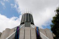 Собор Ливерпуля столичный католический Христоса король Стоковые Изображения