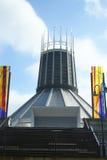 Собор Ливерпуля столичный католический Христоса король стоковое фото rf