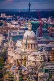 Собор Лондон Великобритания St Paul Стоковые Изображения