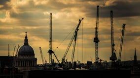 Собор Лондон Великобритания St Paul Стоковое фото RF