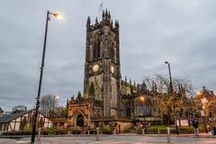 Собор a Манчестера Стоковое Изображение