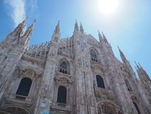 Собор Милана стоковые изображения