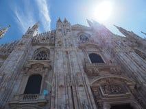 Собор Милана стоковые фотографии rf