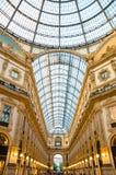 Собор Милана di Duomo на квадрате Аркады del Duomo, Милане, Ita стоковое фото rf