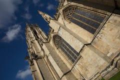 Собор монастырской церкви Йорка, Йоркшир Стоковые Фото