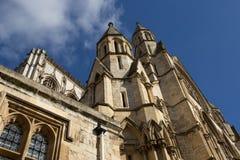 Собор монастырской церкви Йорка, Йоркшир Стоковые Изображения RF