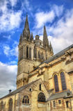 Собор Мориса Святого злит в Франции Стоковое фото RF