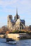 Собор Нотр-Дам Парижа Стоковые Фото